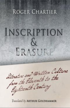 book cover, Inscription and Erasure
