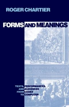 book cover, Forms and Meanings