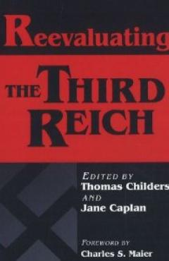 book cover, Reevaluating the Third Reich